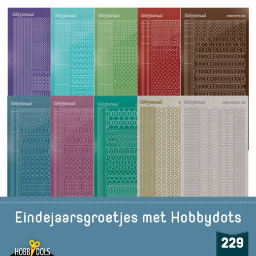 Hobbydols 229 - STICKERSET