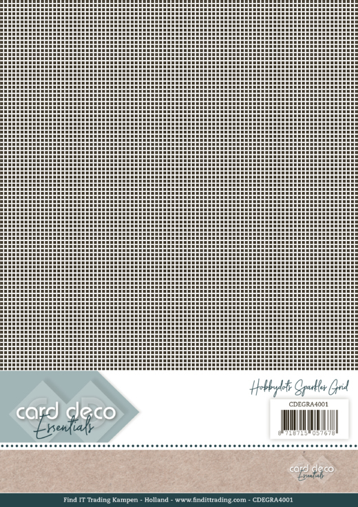 CD Essentials: Hobbydots-Sparkle; Grid A4