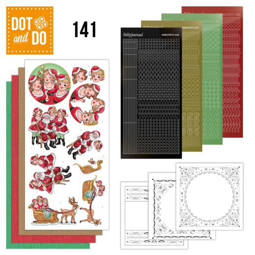 Dot and Do 141: Bubbly Girls Xmas