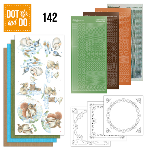 Dot and Do 142: Winter Woodland