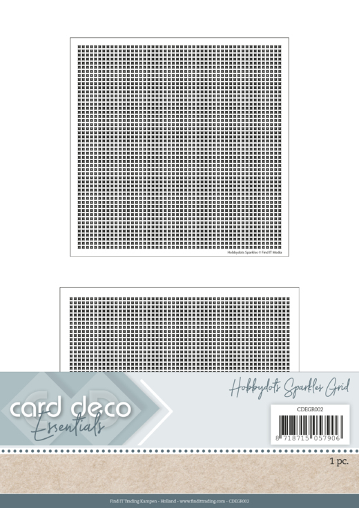 Card Deco Essentials; Hobbydots Grid 2