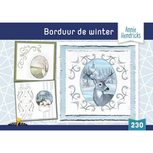 Hobbydols 230 - Borduur de winter - Annie Hendricks
