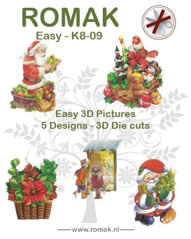 Romak: Easy 3D Pictures; 5 designs