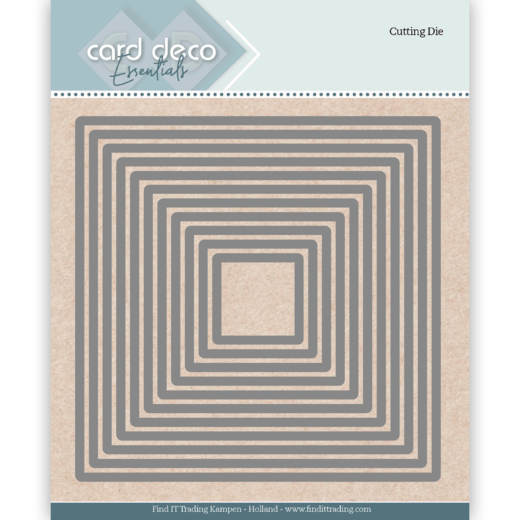 Card Deco Essentials; Cutting Dies / Square