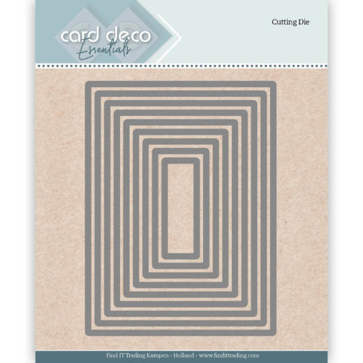 Card Deco Essentials; Cutting Dies / Rectangle