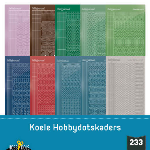 Hobbydols 233; STICKERSET