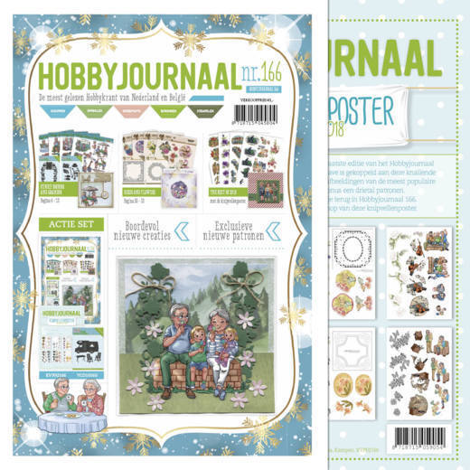 Hobbyjournaal 166 met poster the best of 2018