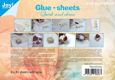 Joy: Glue-sheets A5 = 8 vel