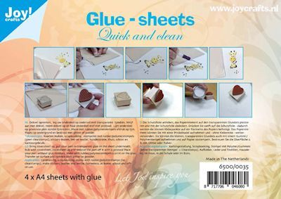 Joy: Glue-sheets A4 =  4 vel