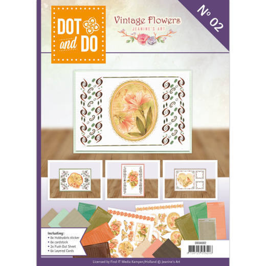 Dot and Do BOOK 2: Jeanine - Vintage Flowers