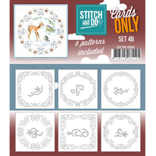Stitch and Do: Cards Only; set 48
