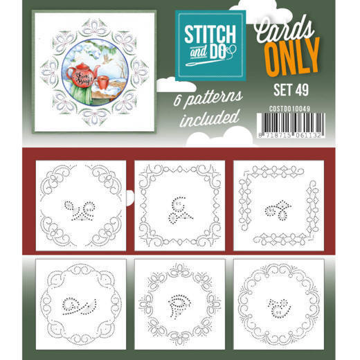 Stitch and Do: Cards Only; set 49