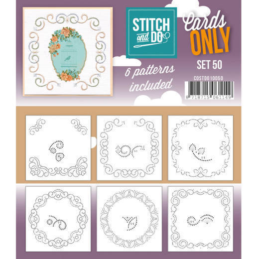 Stitch and Do: Cards Only; set 50