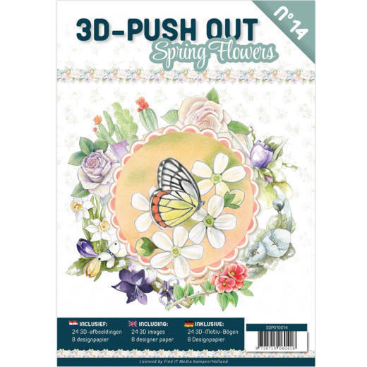 3D Push Outbook 14: Spring Flowers