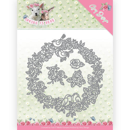 Amy Design: Spring is Here; Die - Circle of Roses
