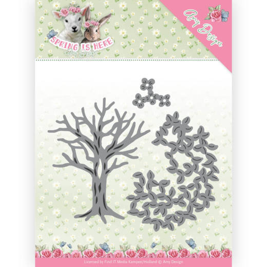 Amy Design: Spring is Here; Die - Spring Tree
