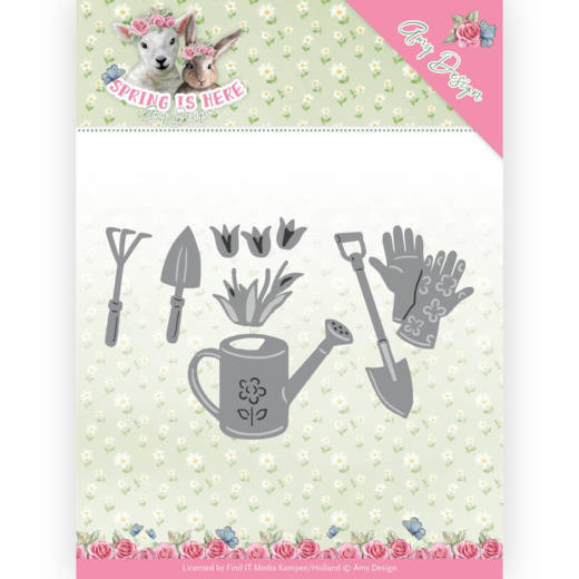 Amy Design: Spring is Here; Die - Garden Tools