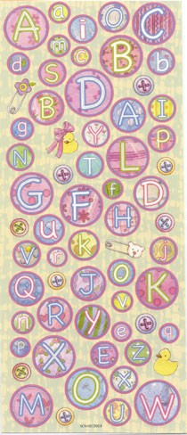 H&C: Sticker; Baby ABC