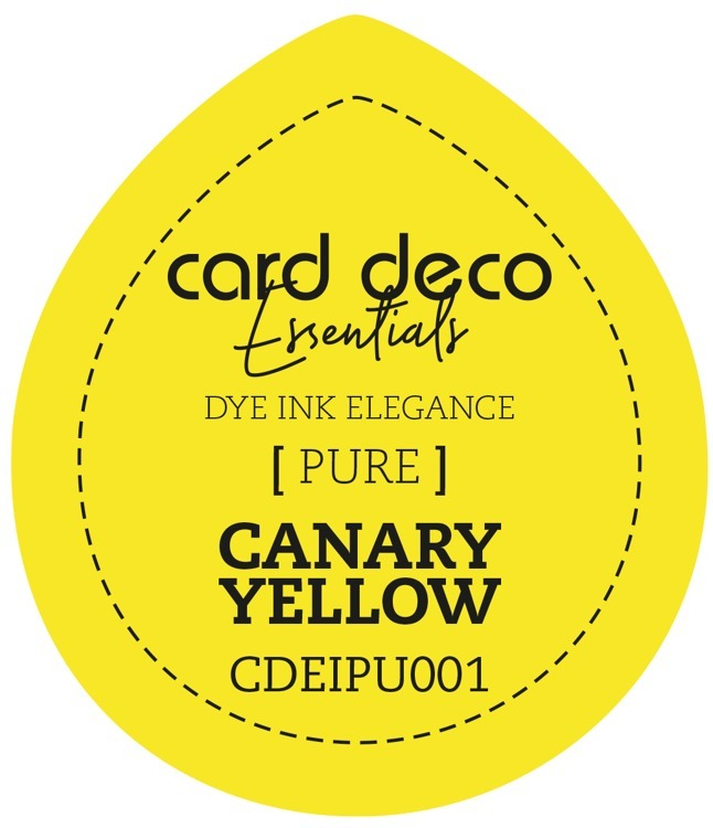 Card Deco Essentials; Fade-Resistant Dye Ink - CANARY YELLOW
