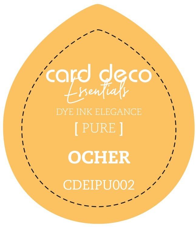 Card Deco Essentials; Fade-Resistant Dye Ink - OCHER