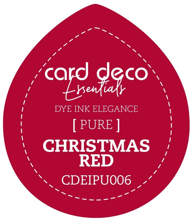 Card Deco Essentials; Fade-Resistant Dye Ink - CHRISTMAS RED