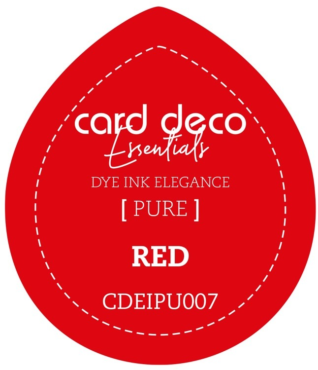 Card Deco Essentials; Fade-Resistant Dye Ink -  RED
