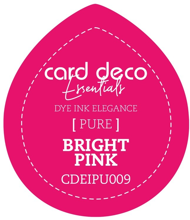 Card Deco Essentials; Fade-Resistant Dye Ink - BRIGHT PINK