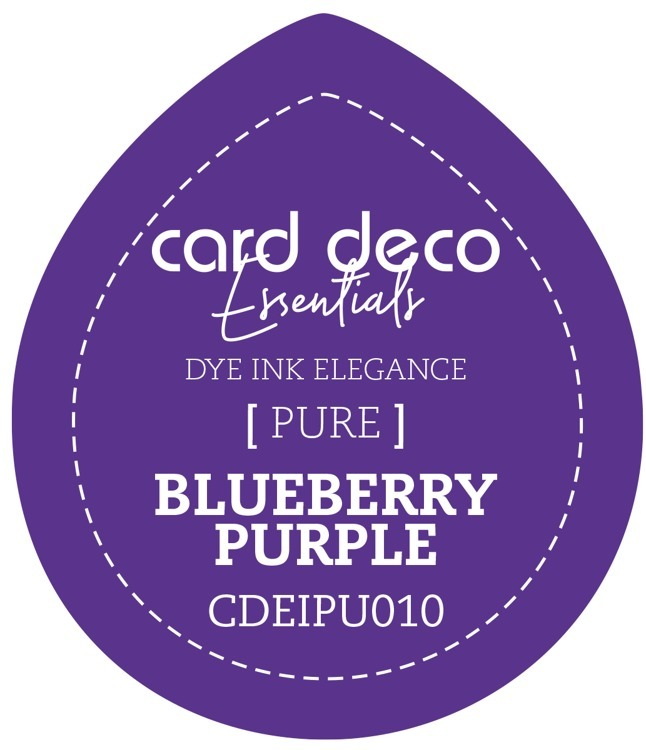 Card Deco Essentials; Fade-Resistant Dye Ink - BLUEBERRY PURPLE