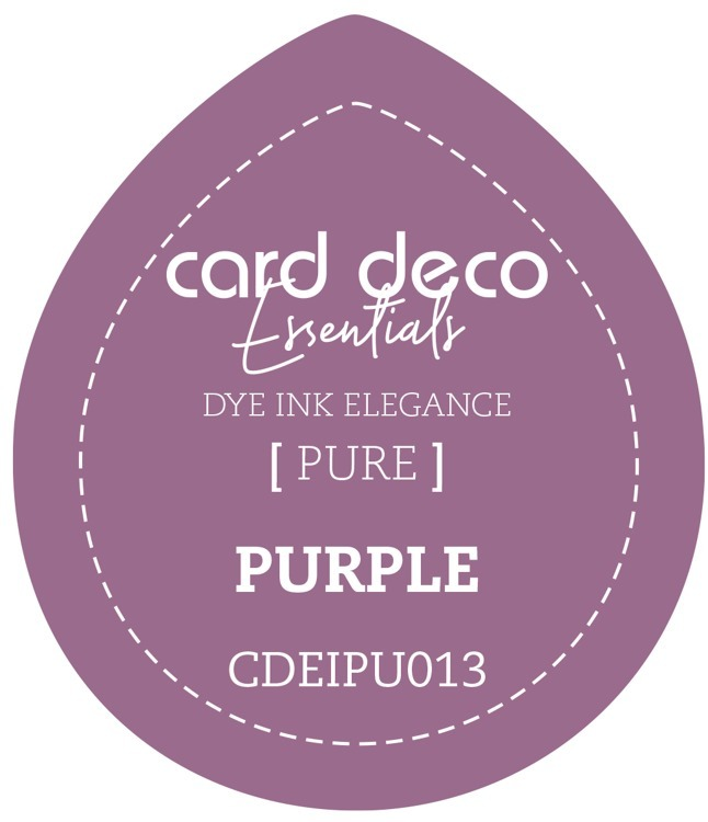 Card Deco Essentials; Fade-Resistant Dye Ink - PURPLE
