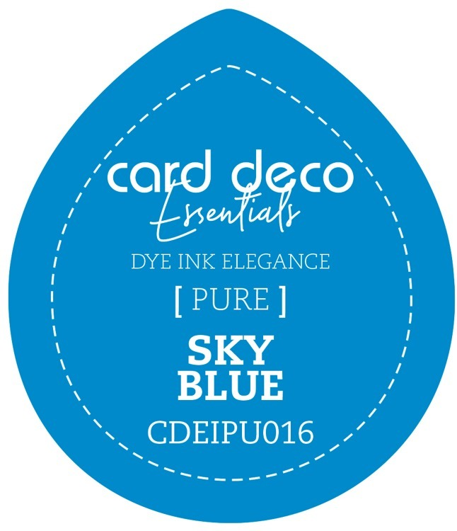 Card Deco Essentials; Fade-Resistant Dye Ink - SKY BLUE