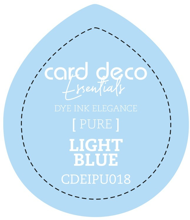 Card Deco Essentials; Fade-Resistant Dye Ink - LIGHT BLUE