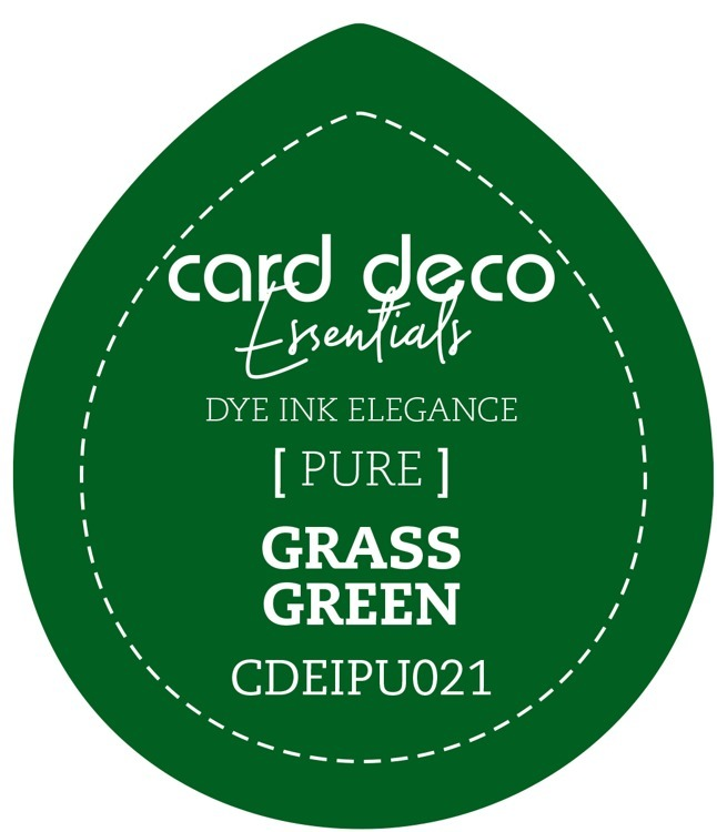 Card Deco Essentials; Fade-Resistant Dye Ink - GRASS GREEN