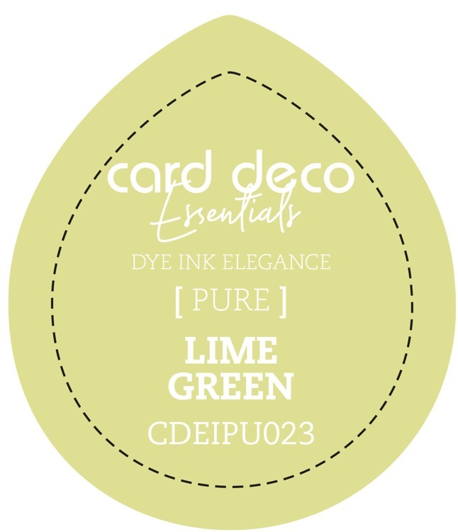 Card Deco Essentials; Fade-Resistant Dye Ink - LIME GREEN