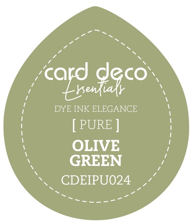 Card Deco Essentials; Fade-Resistant Dye Ink - OLIVE GREEN