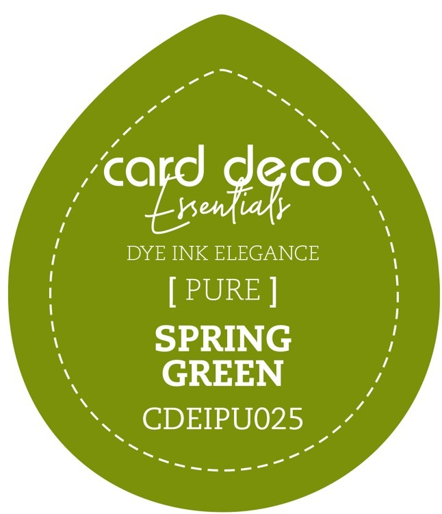 Card Deco Essentials; Fade-Resistant Dye Ink - SPRING GREEN
