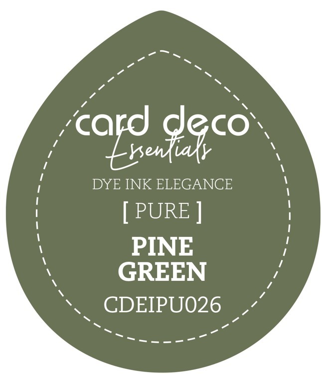 Card Deco Essentials; Fade-Resistant Dye Ink - PINE GREEN