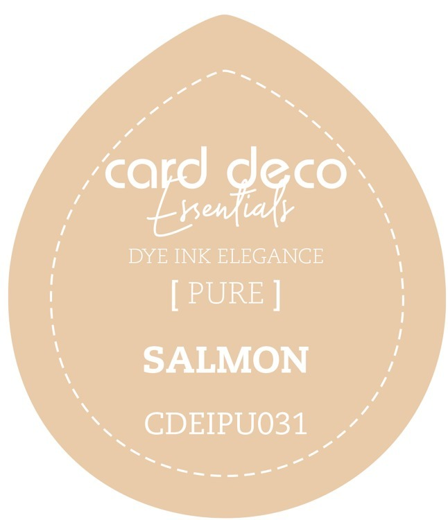 Card Deco Essentials; Fade-Resistant Dye Ink - SALMON