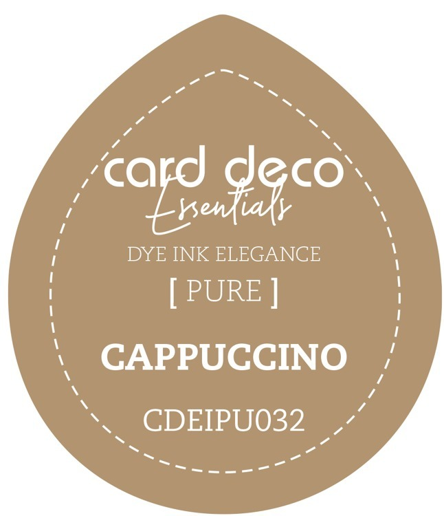 Card Deco Essentials; Fade-Resistant Dye Ink - CAPPUCCINO