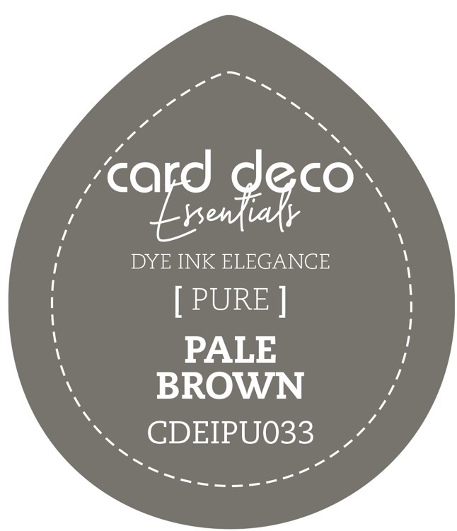 Card Deco Essentials; Fade-Resistant Dye Ink - PALE BROWN