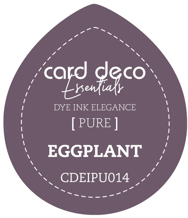 Card Deco Essentials; Fade-Resistant Dye Ink - EGGPLANT