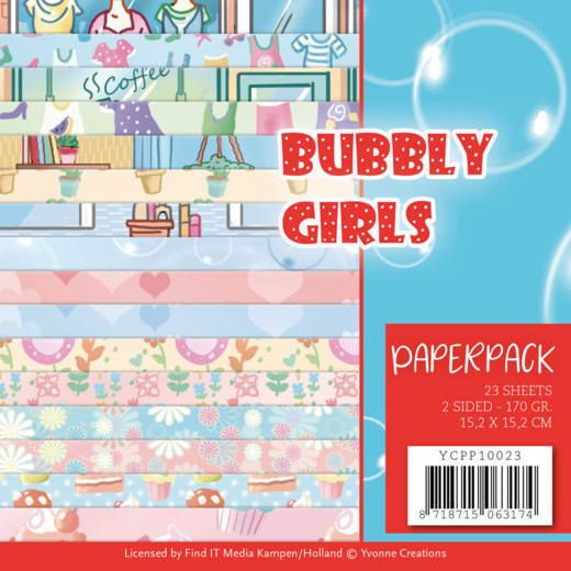 CD: Yvonne; Bubbly Girls - Paperpack