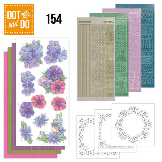 Dot and Do 154: Pink Flowers