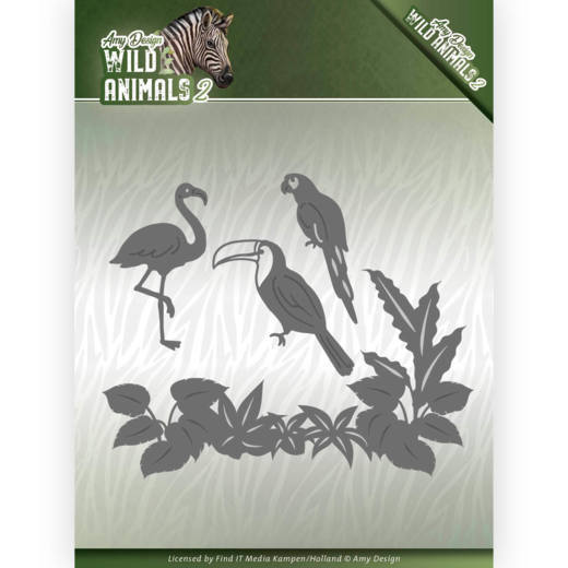 CD: Amy Design; Wild Animals 2, Die - Tropical Birds