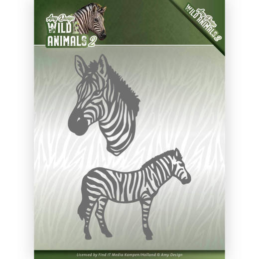 CD: Amy Design; Wild Animals 2, Die - Zebra