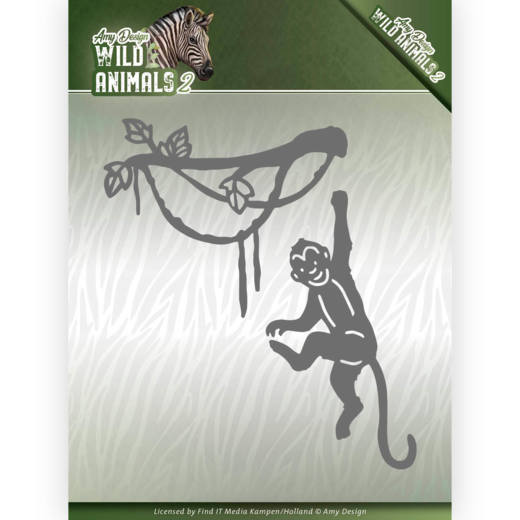 CD: Amy Design; Wild Animals 2, Die - Spider Monkey