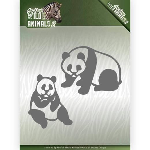 CD: Amy Design; Wild Animals 2, Die - Panda
