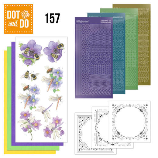 Dot and Do 157 - Bees and Dragonflies