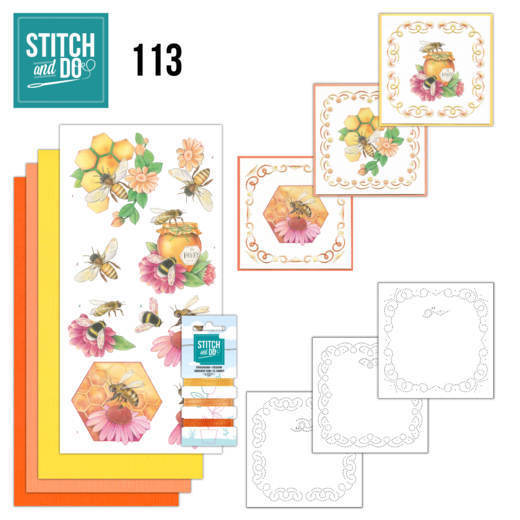 Stitch and Do: 113 - Honey Bees