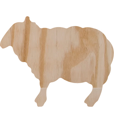 Pronty: Sheep - 155x123 (wood 18mm)