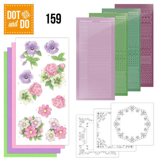 Dot and Do 159; Summer Flowers